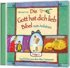 CD: Die Gott hat dich lieb Bibel zum Anhören (2) - Hörbuch