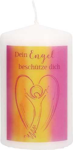 """Kerze """"Dein Engel beschütze dich"""""""