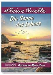 "Aufkleber-Mini-Buch ""Die Sonne des Lebens"""
