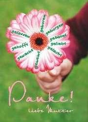 Postkarte: (5) Danke! liebe Mutter