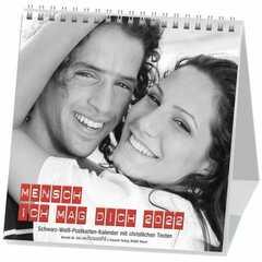 Mensch - ich mag dich 2018 - Postkartenkalender