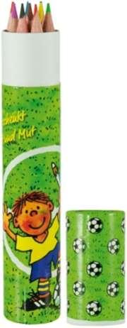 """Buntstifte-Box """"Fußball"""""""