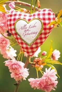 Faltkarte: Alles Liebe zum Geburtstag - Geburtstag