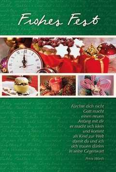Faltkarte: Fürchte dich nicht - Weihnachten