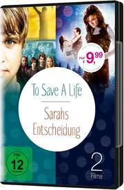 Doppel-DVD: To Save A Life & Sarahs Entscheidung