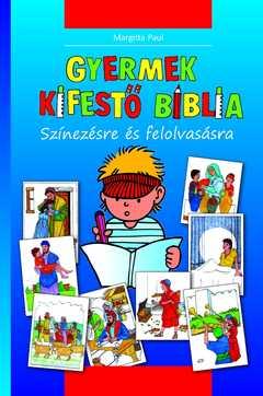 Kinder-Mal-Bibel - Ungarisch