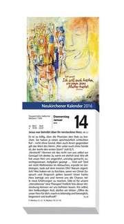 Neukirchener Abreißkalender 2016 - Grossdruck