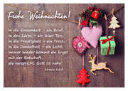Frohe Weihnachten! - Postkarte