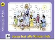 "Rahmenpuzzle ""Jesus hat alle Kinder lieb"""